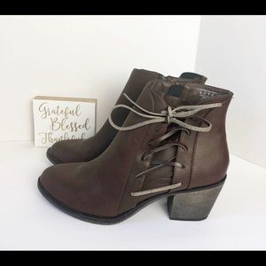Route 66 Ankle Boots. NWT. Size 10